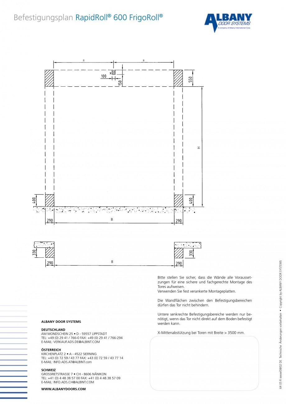 Pagina 4 - Usa industriala de inalta performanta ASSA ABLOY RapidRoll® 600 FrigoRoll Fisa...