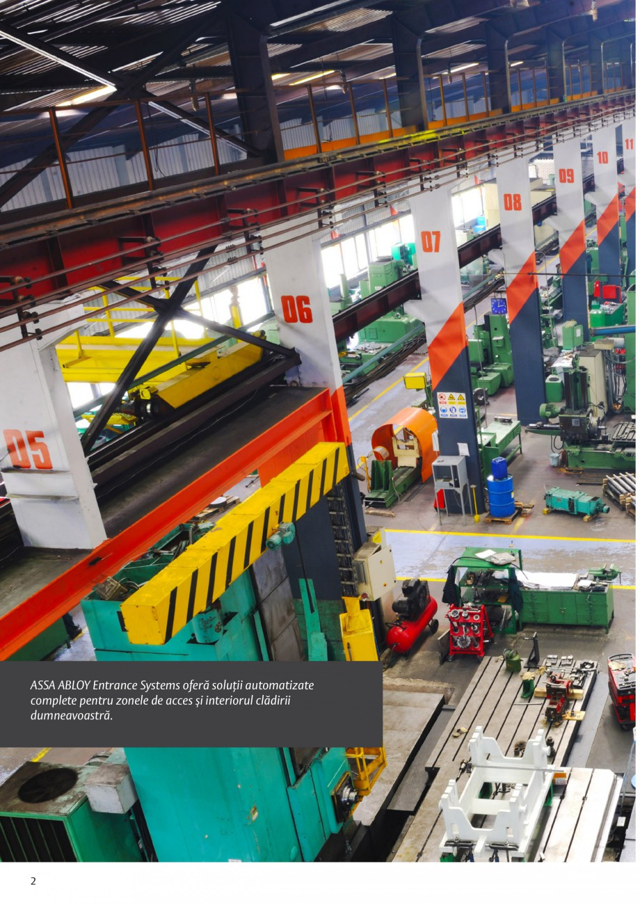 Pagina 2 - Solutii de acces complete pentru unitatile de productie ASSA ABLOY Catalog, brosura...