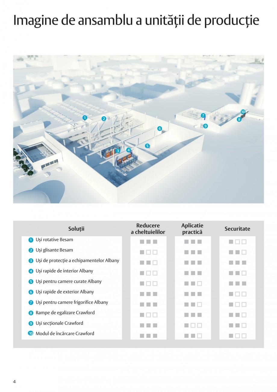 Pagina 4 - Solutii de acces complete pentru unitatile de productie ASSA ABLOY Catalog, brosura...