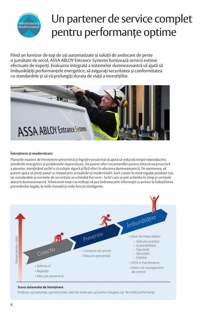 Pagina 6 - Solutii de acces complete pentru unitatile de productie ASSA ABLOY Catalog, brosura...