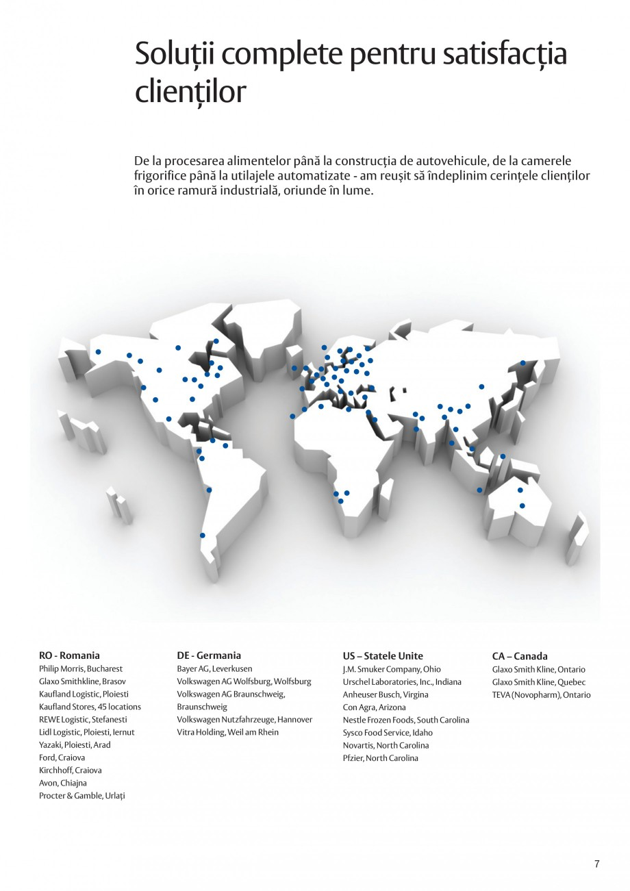 Pagina 7 - Solutii de acces complete pentru unitatile de productie ASSA ABLOY Catalog, brosura...