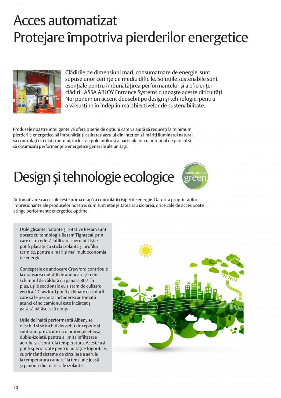 Pagina 10 - Solutii de acces complete pentru unitatile de productie ASSA ABLOY Catalog, brosura...