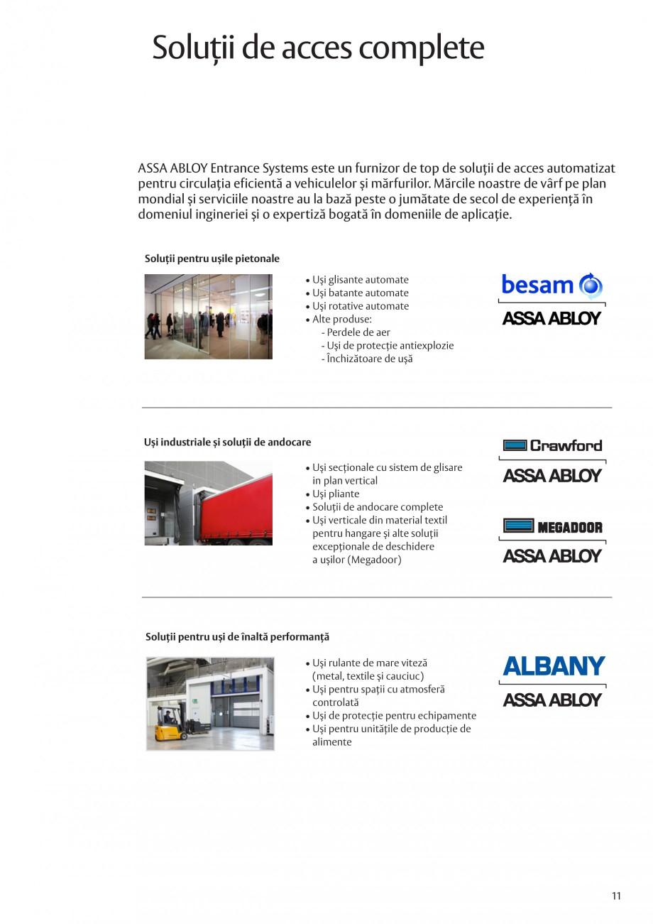 Pagina 11 - Solutii de acces complete pentru unitatile de productie ASSA ABLOY Catalog, brosura...