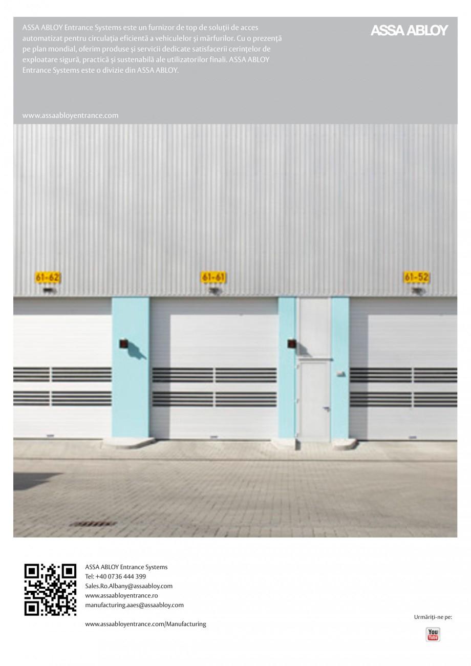 Pagina 12 - Solutii de acces complete pentru unitatile de productie ASSA ABLOY Catalog, brosura...
