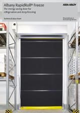 Usa rapida pentru refrigerare si congelare ALBANY ASSA ABLOY