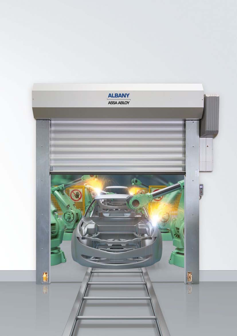 Usi industriale rapide ALBANY ASSA ABLOY - Poza 17