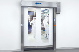 Usi industriale rapide Usile industriale rapide ALBANY ASSA ABLOY sunt usi sigure si robuste si garanteaza o durata de utilizare extrem de lunga, cu nevoi scazute de mentenanta.