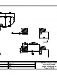 Usa automata transparenta 1 - montare pe perete stanga