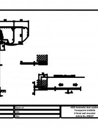Usa automata transparenta 2 - montare pe perete