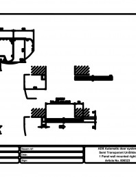 Usa automata semi-transparenta 1 - montare pe perete dreapta