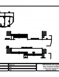 Usa automata semi-transparenta 2 - montare pe perete stanga