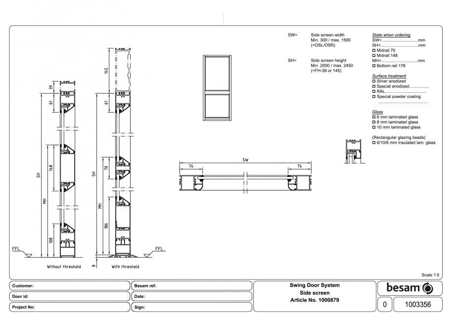 Pagina 1 - CAD-PDF Usa automata batanta ASSA ABLOY Detaliu de produs Besam ADS Slide