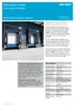 Obturator termic cu perdea standard şi cadru din aluminium ASSA ABLOY - DS6060A