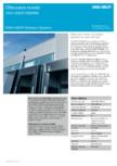 Obturator termic cu perdea standard şi cadru din oţel ASSA ABLOY - DS6060S
