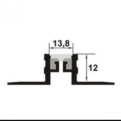 PROLUX Profil de dilatatie din aluminiu MSA125 - detaliu - Profile de dilatatie PROLUX
