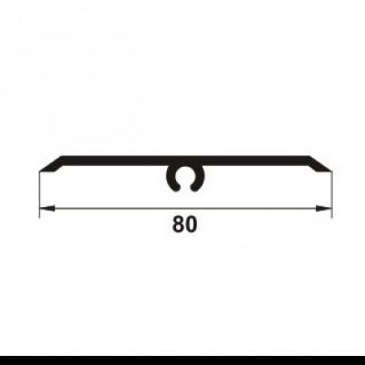 PROLUX Profil de dilatatie pentru pereti / tavane din eloxalum20, 80 mm latime, GOA803 - detaliu - Profile de dilatatie PROLUX