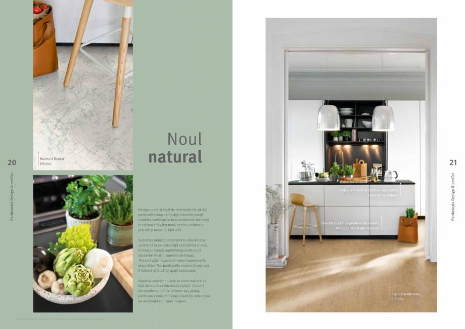 Pagina 11 - Colecția de pardoseli Egger PRO 2021+ EGGER Catalog, brosura Romana ciale a produsului,...