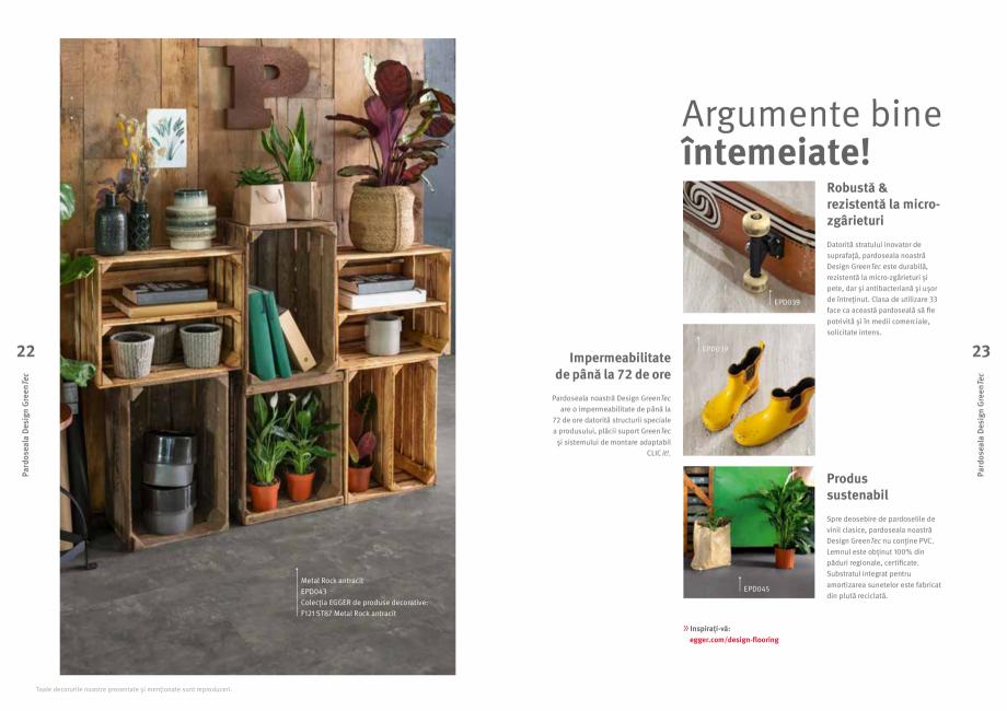 Pagina 12 - Colecția de pardoseli Egger PRO 2021+ EGGER Catalog, brosura Romana i între decoruri...