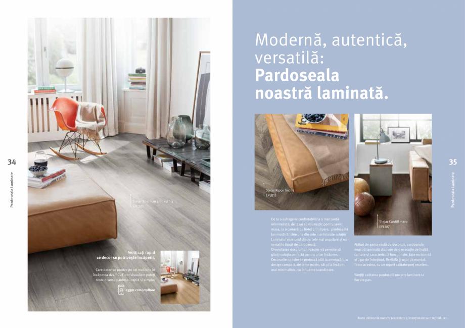 Pagina 18 - Colecția de pardoseli Egger PRO 2021+ EGGER Catalog, brosura Romana și mai versatile...