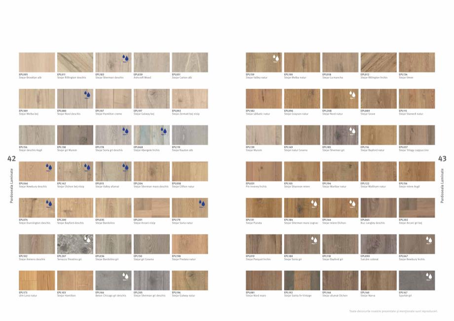 Pagina 22 - Colecția de pardoseli Egger PRO 2021+ EGGER Catalog, brosura Romana PL085 Stejar...