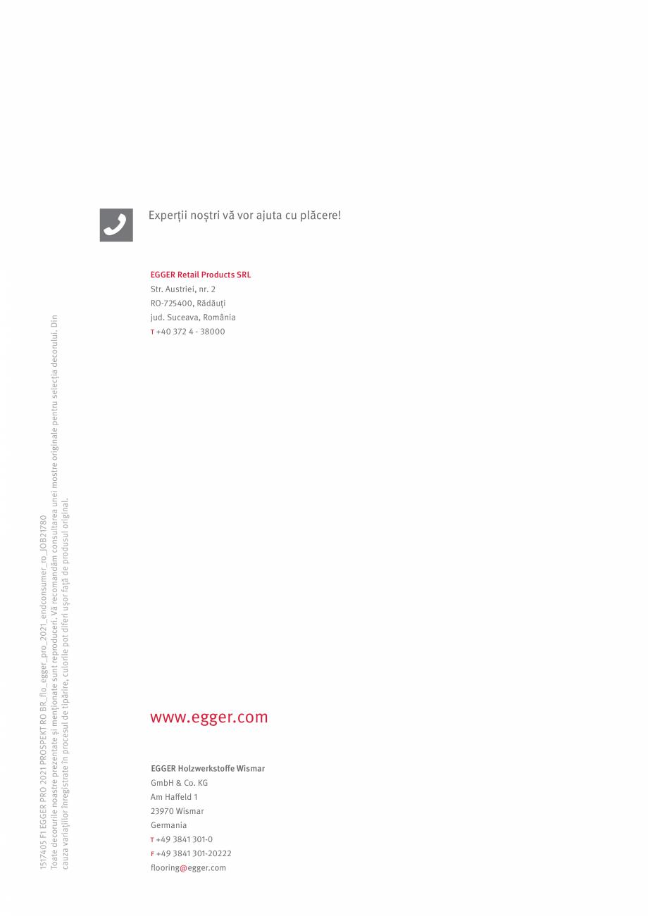 Pagina 27 - Colecția de pardoseli Egger PRO 2021+ EGGER Catalog, brosura Romana �.  Arată ca...