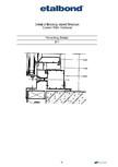 Detalii de montaj pereti cortina ETALBOND - etalbond®