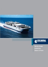 Table si placi din aluminiu - Industria marina ELVAL