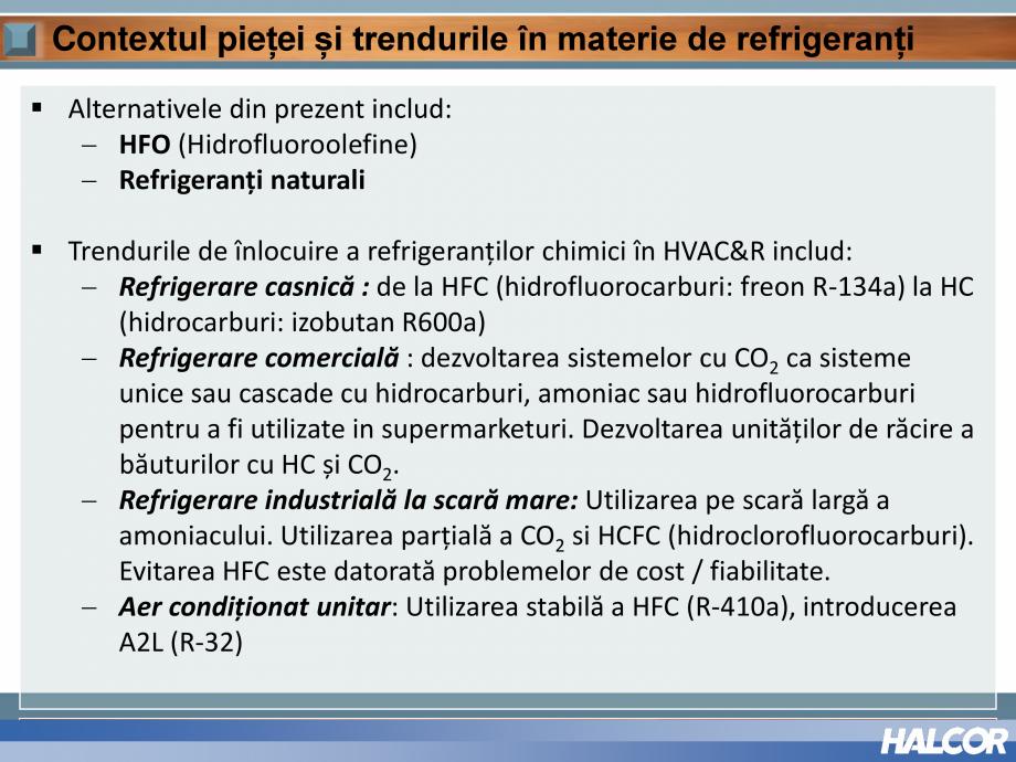Pagina 5 - Tevi din aliaj de cupru pentru aplicatii de CO2 de inalta presiune  HALCOR TALOS®XS...