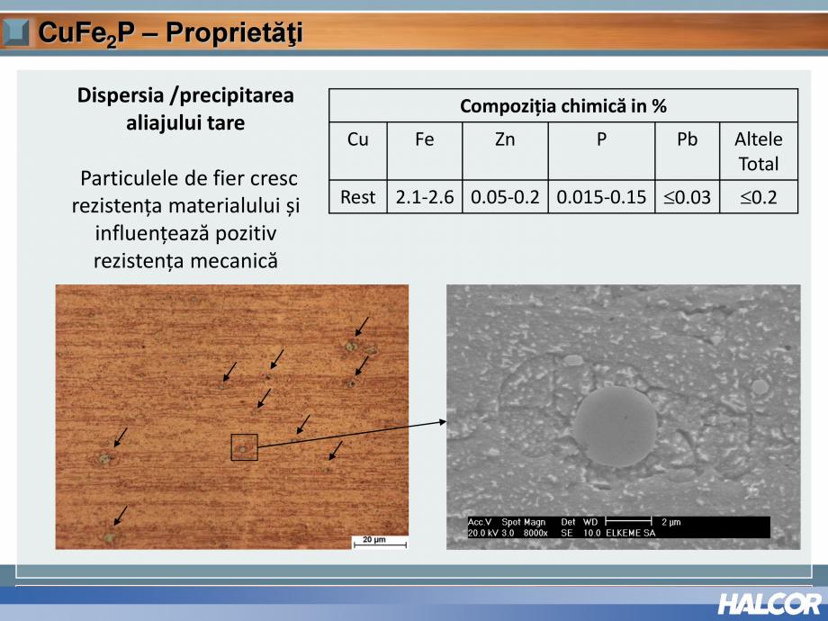 Pagina 11 - Tevi din aliaj de cupru pentru aplicatii de CO2 de inalta presiune  HALCOR TALOS®XS ...