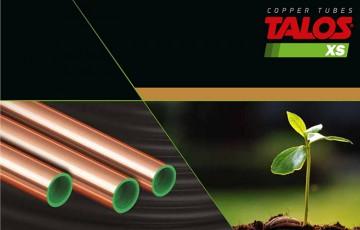 Tevi din aliaj de cupru foarte rezistent pentru aplicatii de CO2 de inalta presiune  Teava TALOS® XS satisface cererea pietei industriale pentru tevi din aliaje rezistente de cupru pentru sisteme de refrigerare cu CO2.