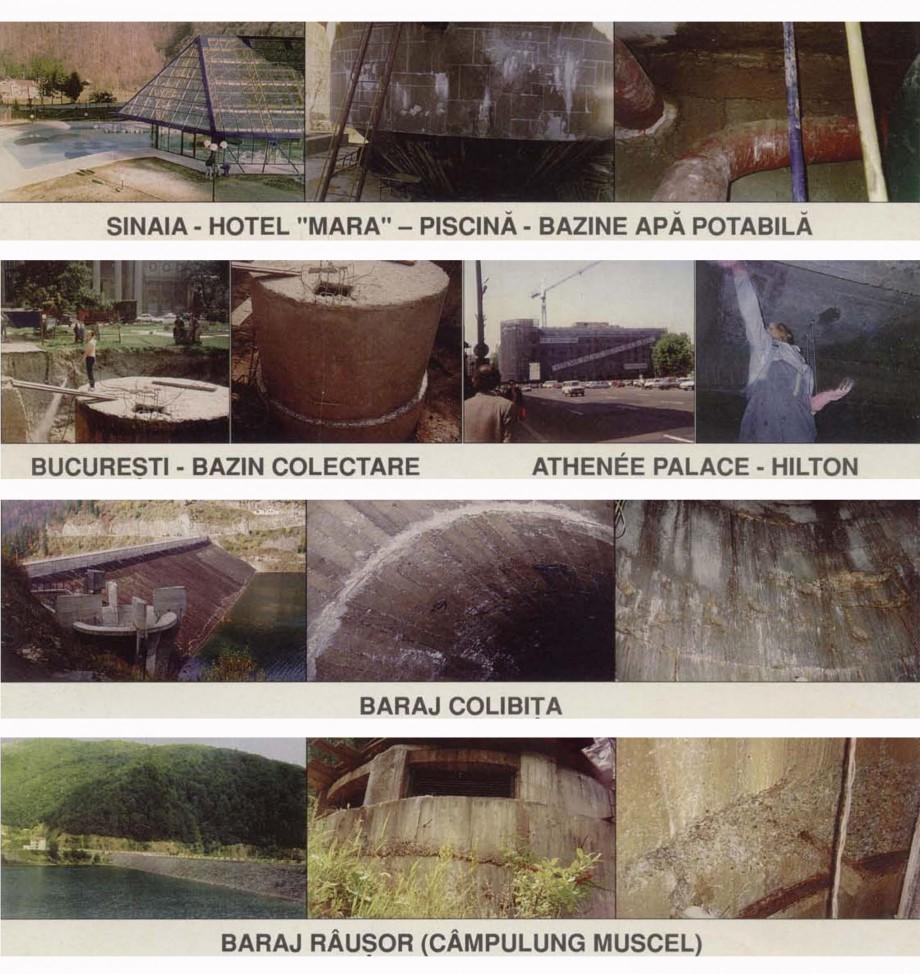 Pagina 2 - Lucrari realizate in Romania XYPEX Lucrari, proiecte Romana