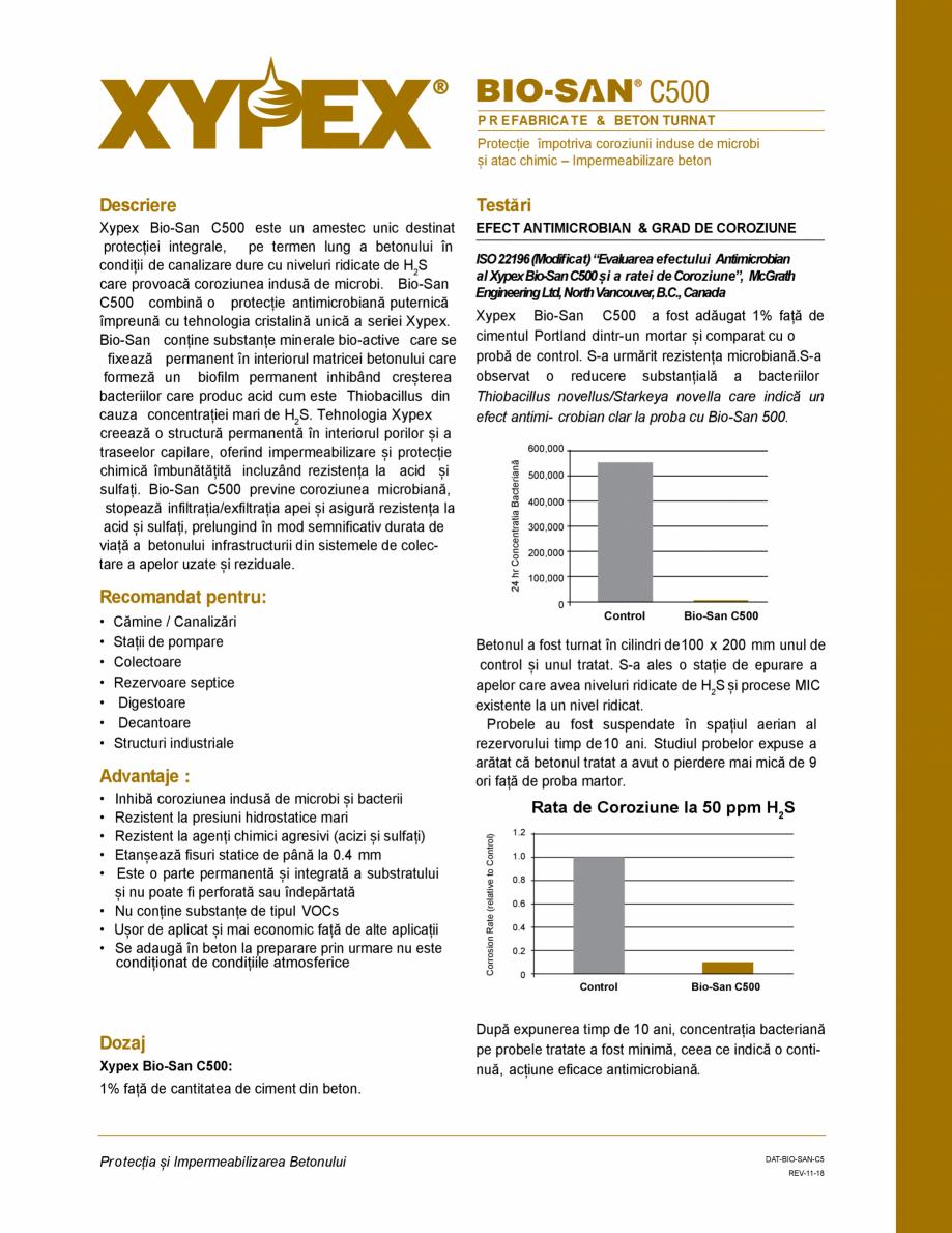 Pagina 1 - Protectie impotriva coroziunii induse de microbi și atac chimic - Impermeabilizare beton...