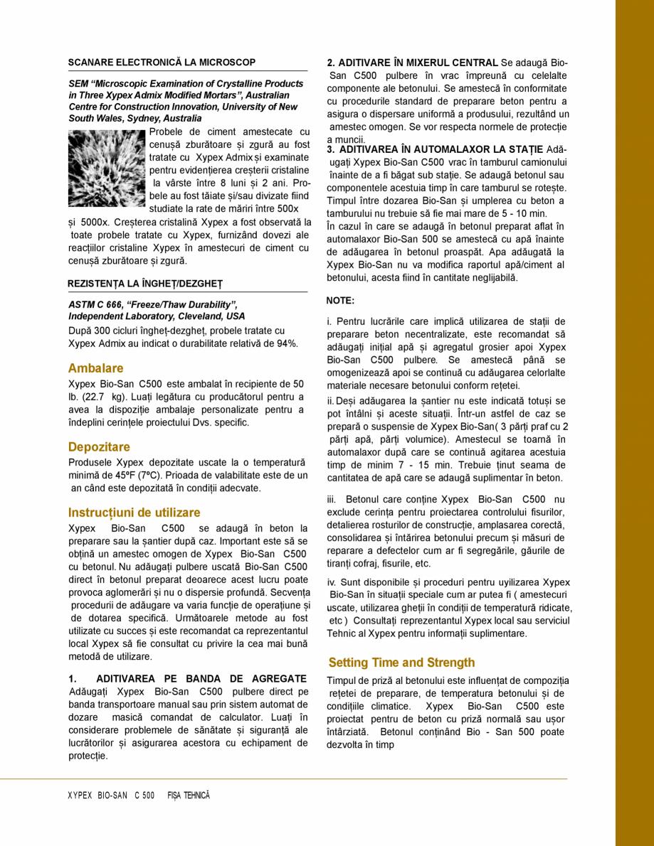 Pagina 3 - Protectie impotriva coroziunii induse de microbi și atac chimic - Impermeabilizare beton...