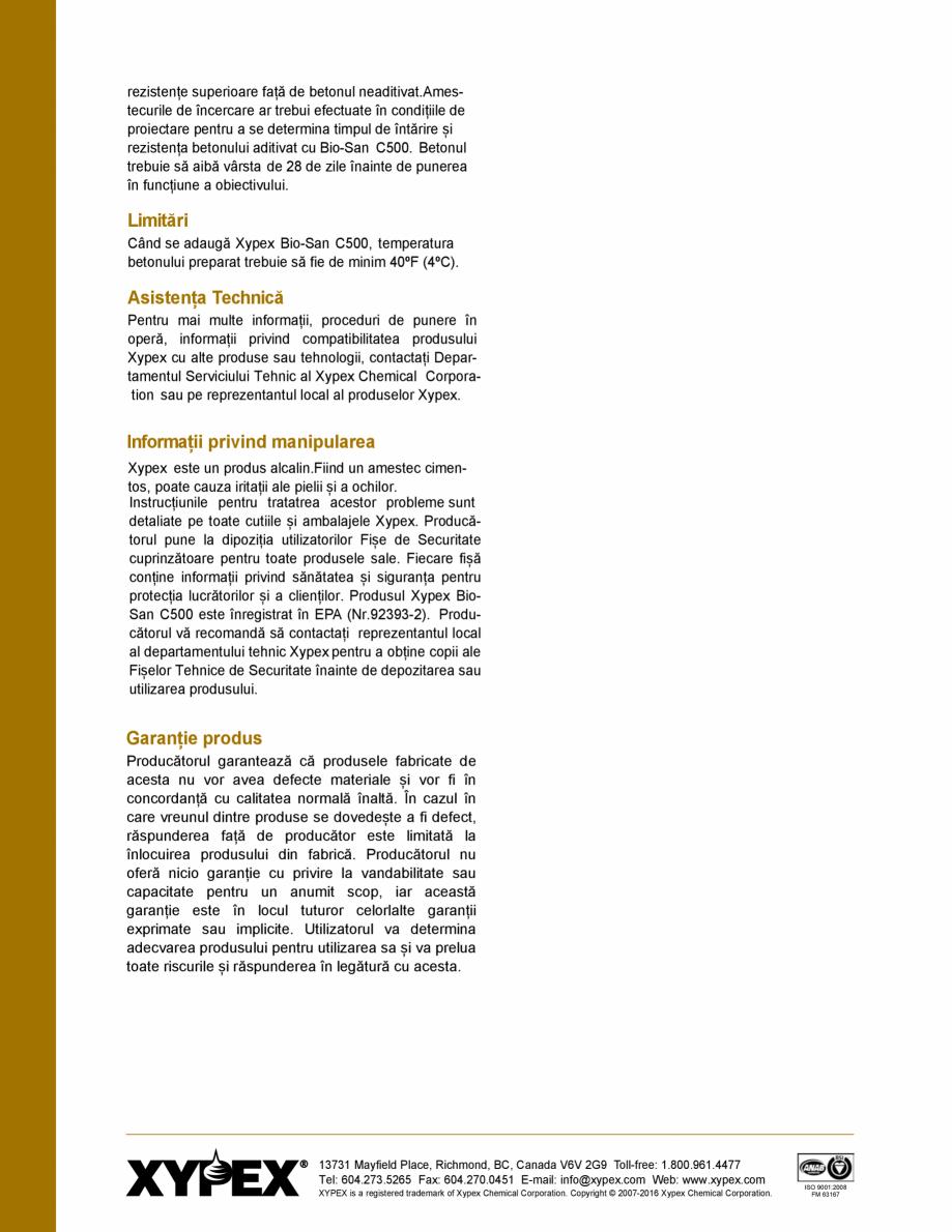Pagina 4 - Protectie impotriva coroziunii induse de microbi și atac chimic - Impermeabilizare beton...