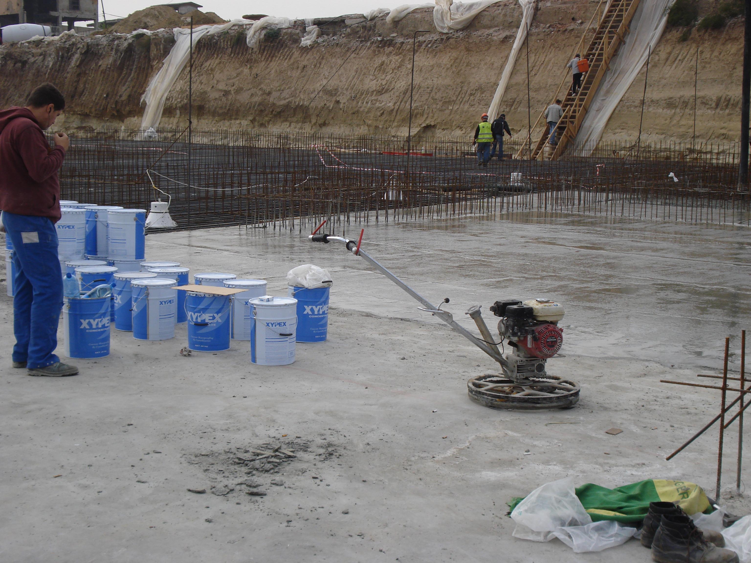 Lucrari Xypex - produse pentru impermeabilizarea si protectia betonului prin cristalizare  XYPEX - Poza 7