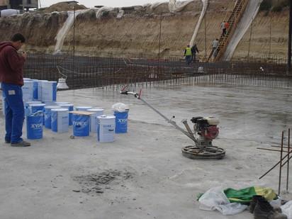 Lucrari Xypex - produse pentru impermeabilizarea si protectia betonului prin cristalizare  / DROMFELT
