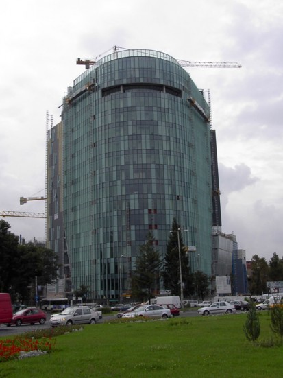 Lucrari Xypex - produse pentru impermeabilizarea si protectia betonului prin cristalizare  / Sediul birouri VODAFONE P-ta Charles de Gaulle