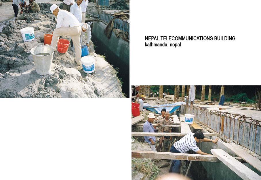 Lucrari internationale - Produse pentru impermeabilizarea si protectia betonului prin cristalizare XYPEX - Poza 19