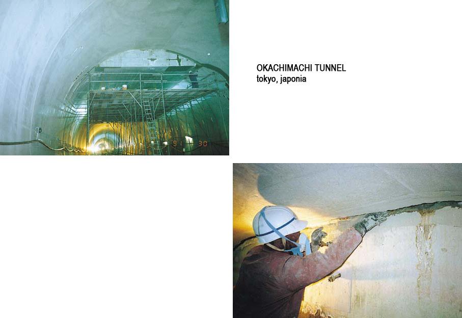 Lucrari internationale - Produse pentru impermeabilizarea si protectia betonului prin