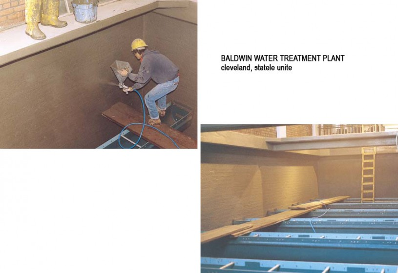 Lucrari, proiecte Lucrari internationale - Produse pentru impermeabilizarea si protectia betonului prin cristalizare XYPEX - Poza 23