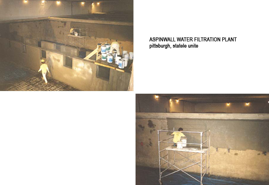 Lucrari internationale - Produse pentru impermeabilizarea si protectia betonului prin cristalizare XYPEX - Poza 2