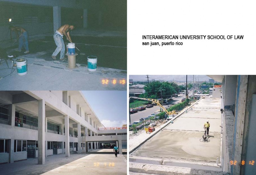Lucrari, proiecte Lucrari internationale - Produse pentru impermeabilizarea si protectia betonului prin cristalizare XYPEX - Poza 38