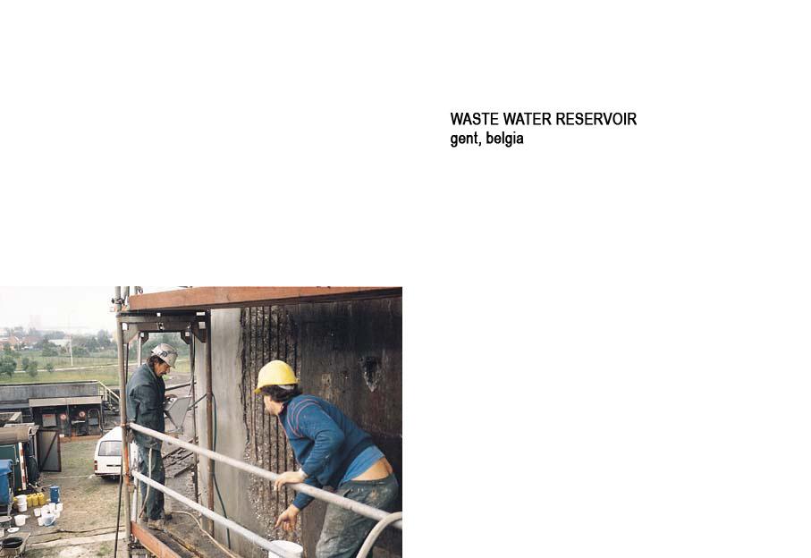 Lucrari internationale - Produse pentru impermeabilizarea si protectia betonului prin cristalizare XYPEX - Poza 59