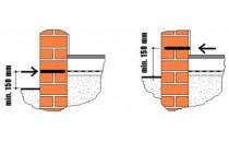 Combaterea igrasiei de capilaritate prin refacerea barierei hidrofuge in zidarie Sistemul hidrofug FREEZTEQ este un tratament ce se aplica pe toata suprafata grosimii zidului, astfel incat sa creeze o zona saturata  in siliconati.