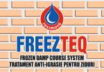 Combaterea igrasiei de capilaritate prin refacerea barierei hidrofuge in zidarie - FREEZTEQ
