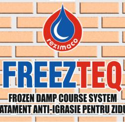 Combaterea igrasiei de capilaritate prin refacerea barierei hidrofuge in zidarie FREEZTEQ