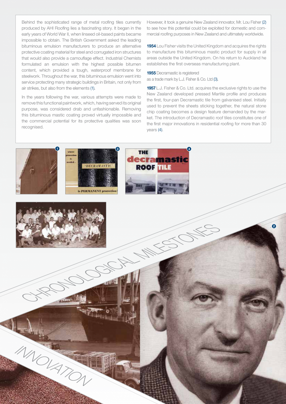 Catalog, brosura Istoria Gerard SHAKE, MILANO, HERITAGE, CLASSIC, SHINGLE, DIAMANT GERARD Acoperis cu tigla metalica cu acoperire de piatra naturala FINAL DISTRIBUTION  with the European Community Construction Products Directive, and in conformance with the EN 14782... - Pagina 4