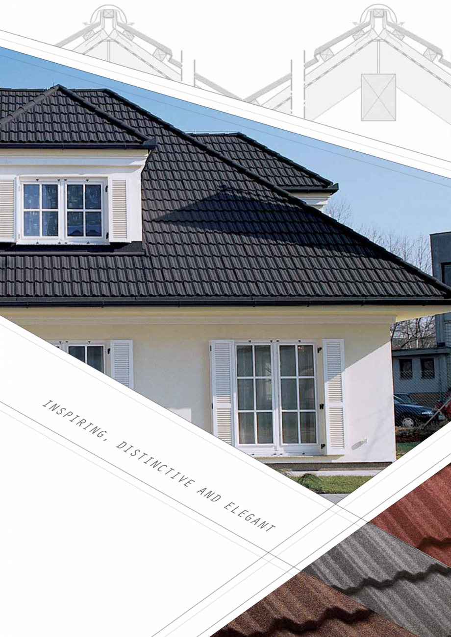 Catalog, brosura Invelitori din tabla tip tigla, cu acoperiri din piatra naturala SHAKE, MILANO, HERITAGE, CLASSIC, SHINGLE, DIAMANT GERARD Acoperis cu tigla metalica cu acoperire de piatra naturala FINAL DISTRIBUTION uality, strength and style of Gerard Classic roofing, along with a wide range of colours offers home... - Pagina 7
