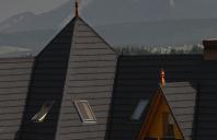 Acoperis cu tigla metalica cu acoperire de piatra naturala GERARD ofera o gama variata de tigle metalice cu acoperire de piatra naturala, este ideala pentru orice tip de acoperis si este disponibila cu finisaj texturat, pe culori clasice si contemporane.
