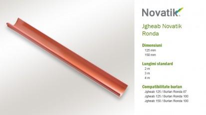 1. Jgheab RONDA Componente sistem pluvial (otel prevopsit)